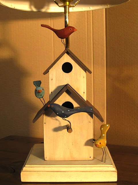 birdhouse lamp plans